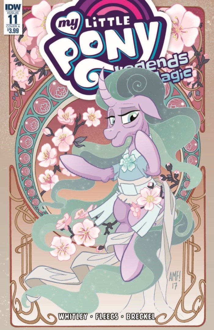 MyLittlePony_LoM_11-pr-1 ComicList Previews: MY LITTLE PONY LEGENDS OF MAGIC #11