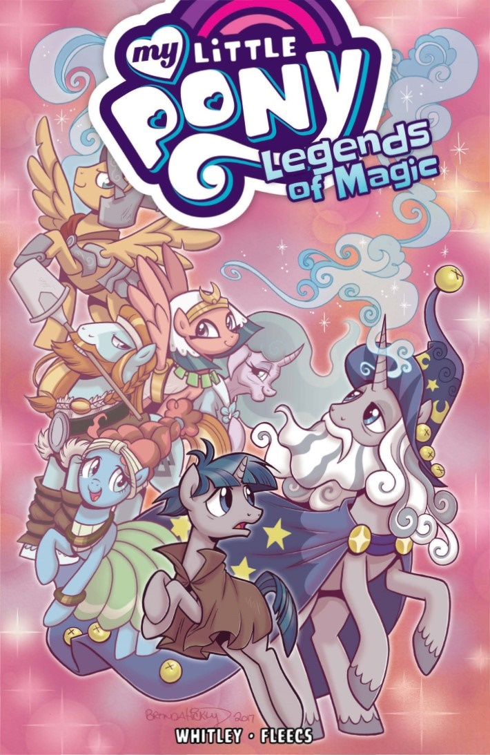 MyLittlePony_LoM_vol02-pr-1 ComicList Previews: MY LITTLE PONY LEGENDS OF MAGIC VOLUME 2 TP