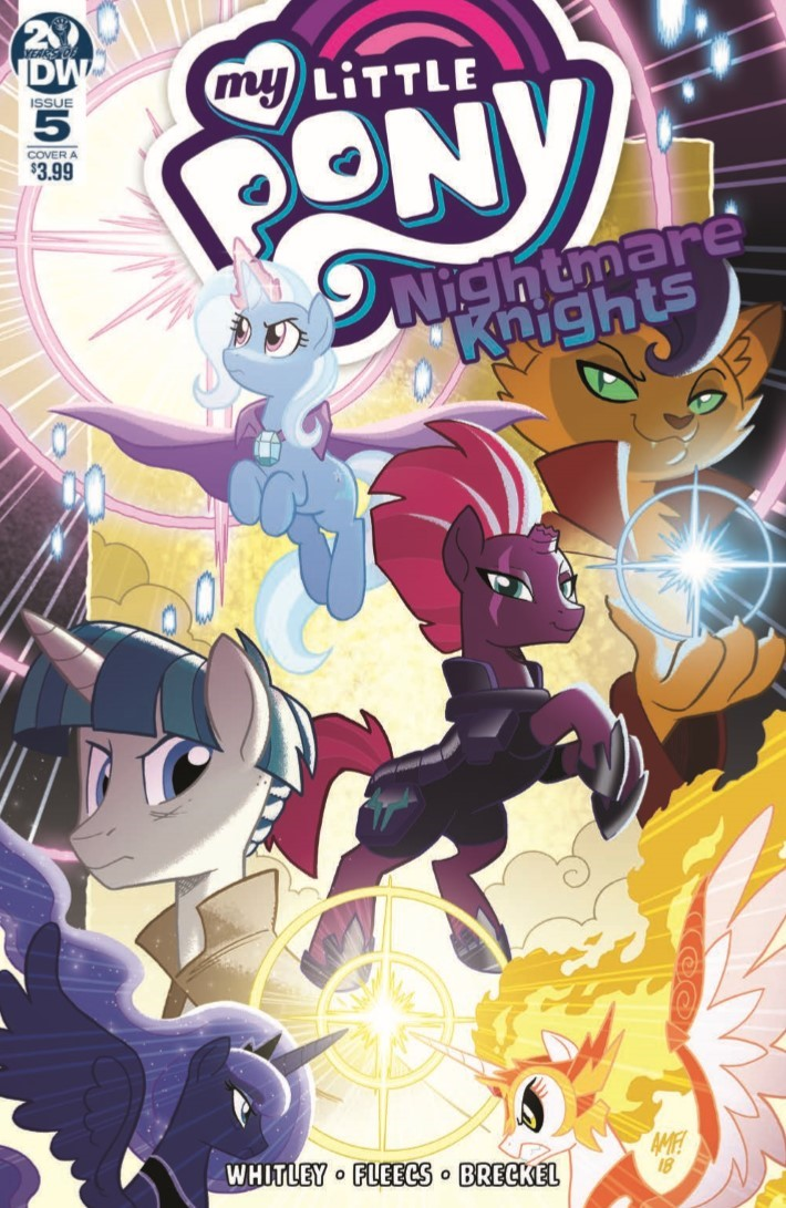 MyLittlePony_Nightmare_Knights_05-pr-1 ComicList Previews: MY LITTLE PONY NIGHTMARE KNIGHTS #5