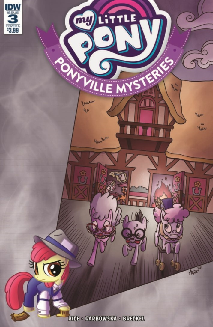 MyLittlePony_Ponyville_Mysteries_03-pr-1 ComicList Previews: MY LITTLE PONY PONYVILLE MYSTERIES #3