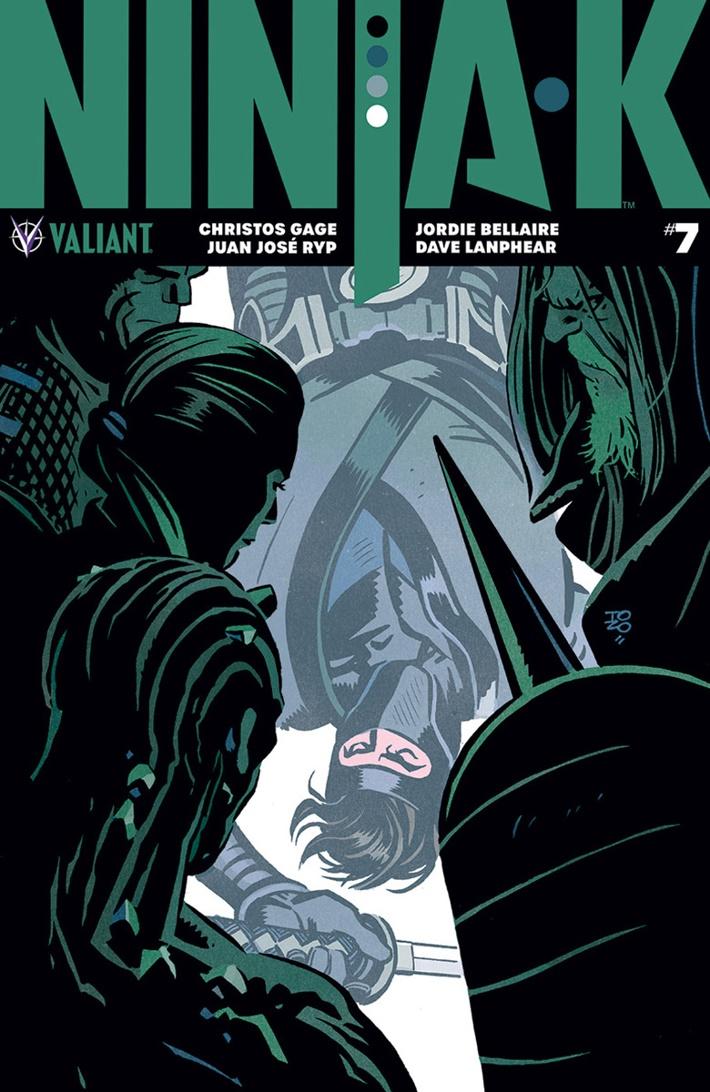 NINJA-K_007_COVER-A_ZONJIC ComicList Previews: NINJA-K #7