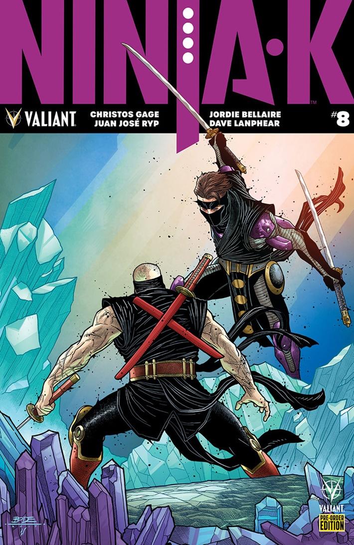 NINJA-K_008_PRE-ORDER_BODENHEIM ComicList: Valiant Entertainment New Releases for 06/20/2018