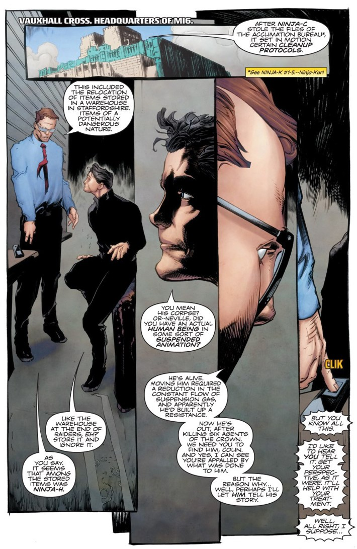 NINJA-K_TPB3_PREVIEW_004 ComicList Previews: NINJA-K VOLUME 3 FALLOUT TP