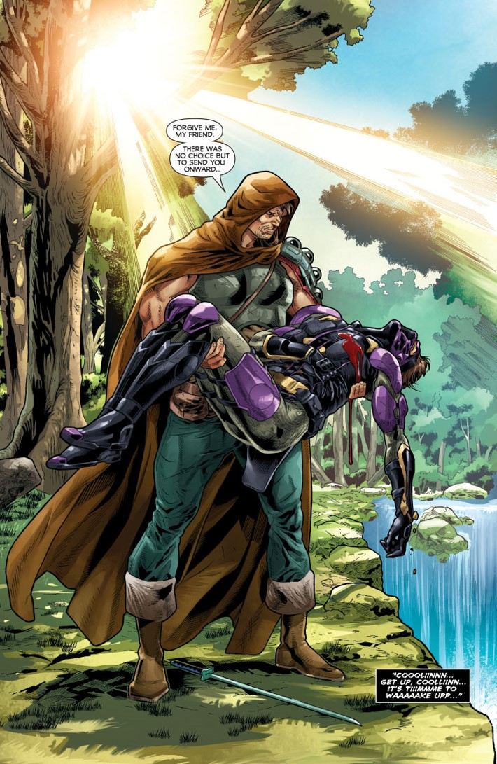 NJKVS_003_002 ComicList Previews: NINJAK VS THE VALIANT UNIVERSE #3