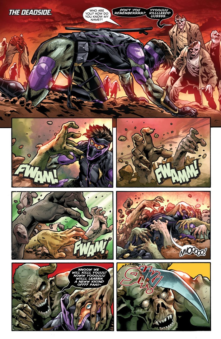 NJKVS_003_003 ComicList Previews: NINJAK VS THE VALIANT UNIVERSE #3