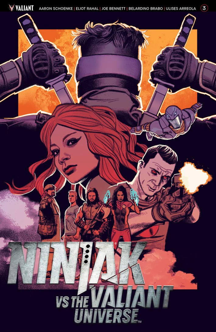 NJKVS_003_COVER-A_SMALLWOOD ComicList Previews: NINJAK VS THE VALIANT UNIVERSE #3