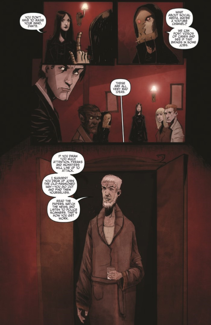 OctoberFaction_SuperDreams_01-pr-6 ComicList Previews: THE OCTOBER FACTION SUPERNATURAL DREAMS #1