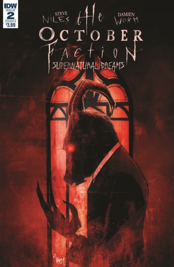 OctoberFaction_SuperDreams_02-pr-1 ComicList Previews: OCTOBER FACTION SUPERNATURAL DREAMS #2