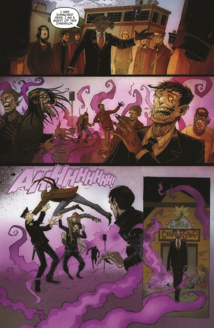 OctoberFaction_SuperDreams_02-pr-6 ComicList Previews: OCTOBER FACTION SUPERNATURAL DREAMS #2