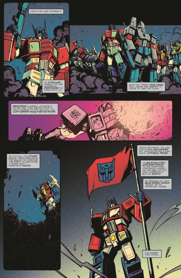 OptimusPrime_19-pr-5 ComicList Previews: OPTIMUS PRIME #19
