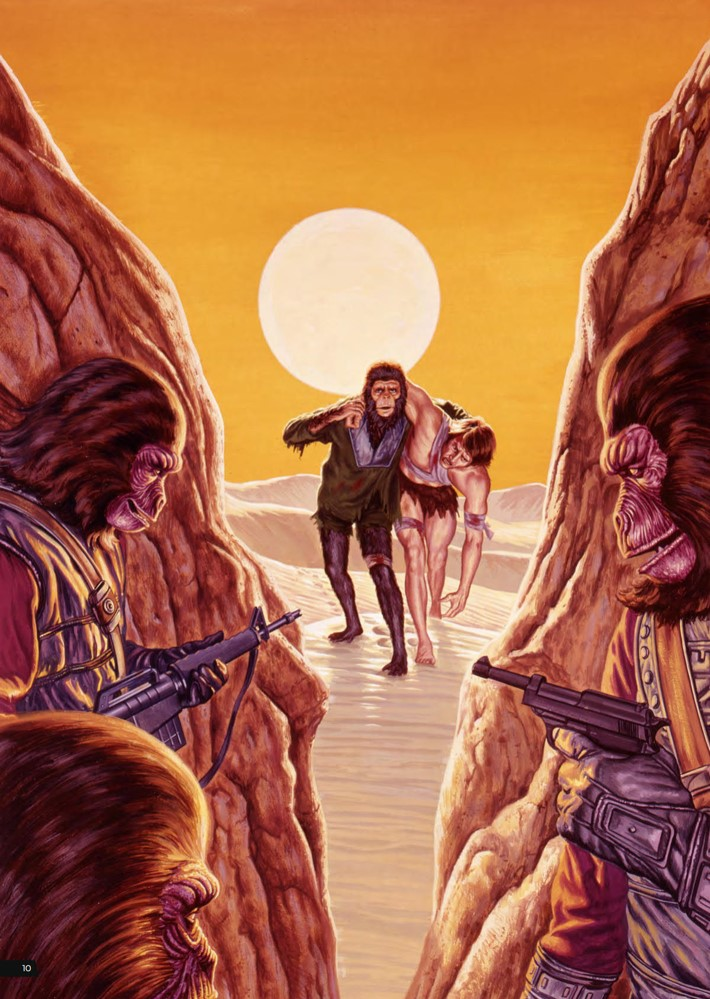 POTA_ArtistTribute_HC_PRESS_12 ComicList Previews: PLANET OF THE APES ARTIST TRIBUTE HC