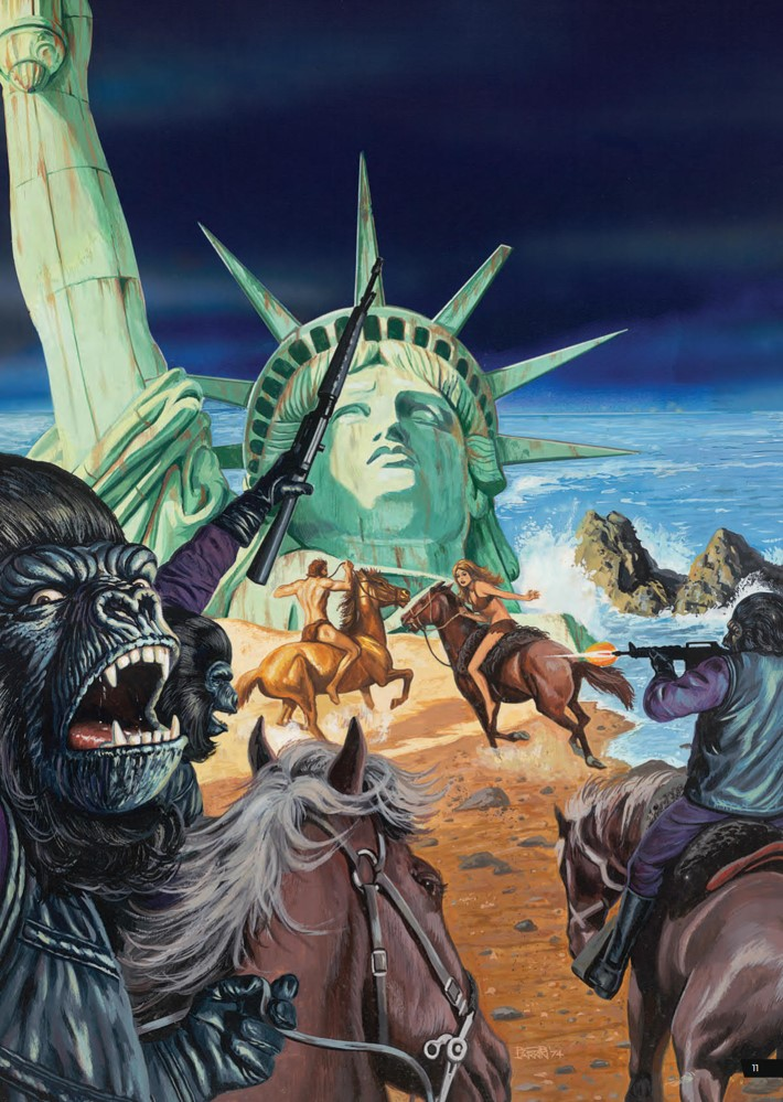 POTA_ArtistTribute_HC_PRESS_13 ComicList Previews: PLANET OF THE APES ARTIST TRIBUTE HC