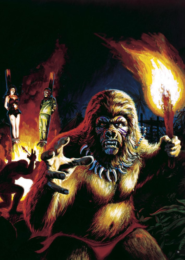 POTA_ArtistTribute_HC_PRESS_15 ComicList Previews: PLANET OF THE APES ARTIST TRIBUTE HC