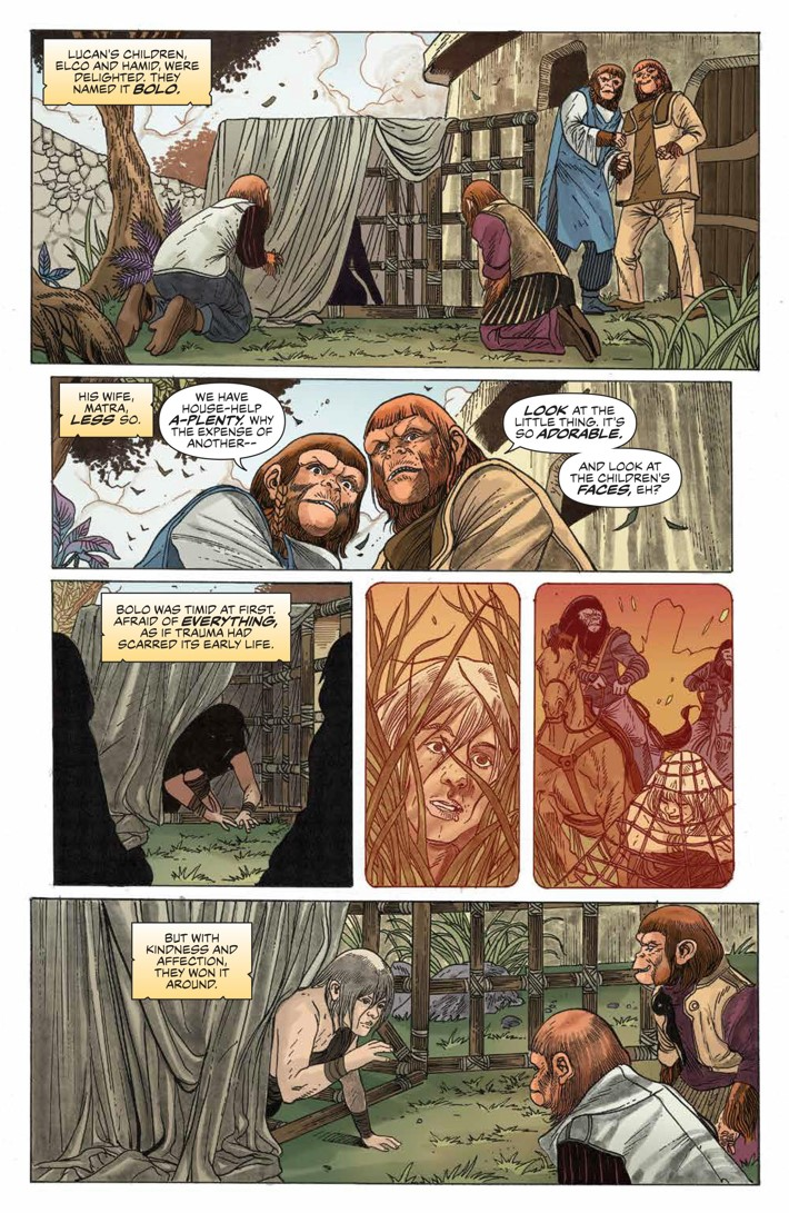 POTA_TimeofMan_001_PRESS_14 ComicList Previews: PLANET OF THE APES THE TIME OF MAN #1