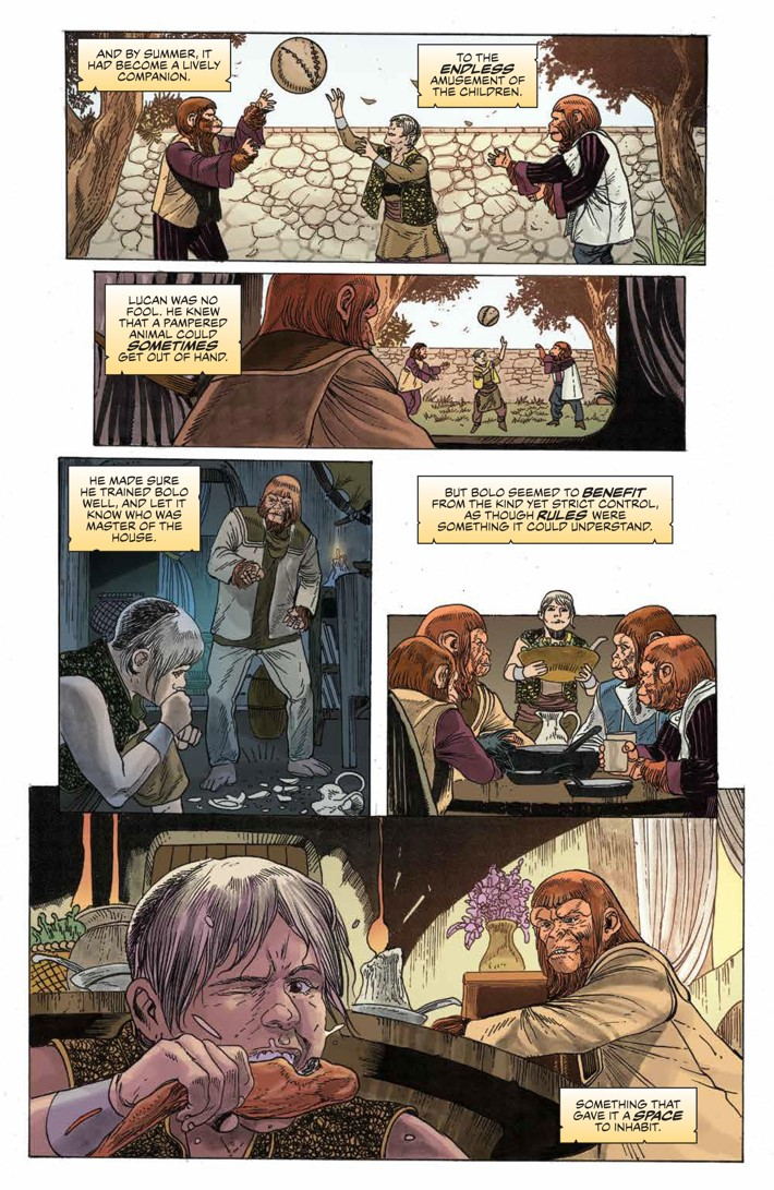 POTA_TimeofMan_001_PRESS_15 ComicList Previews: PLANET OF THE APES THE TIME OF MAN #1