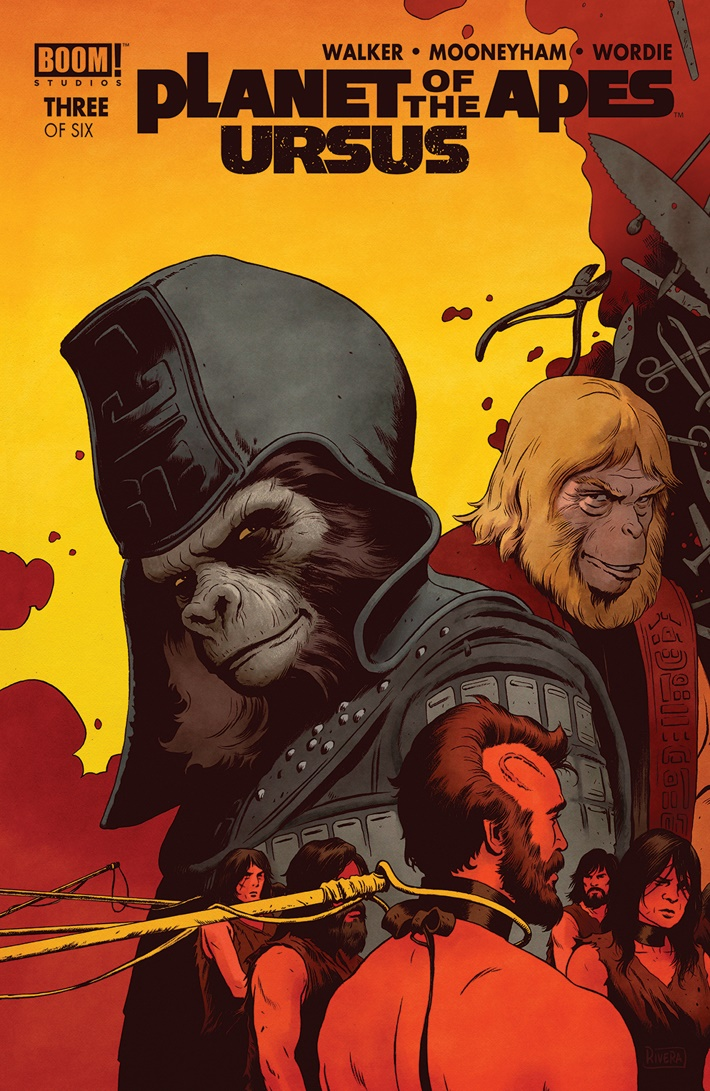 POTA_Ursus_003_A_Main ComicList Previews: PLANET OF THE APES URSUS #3