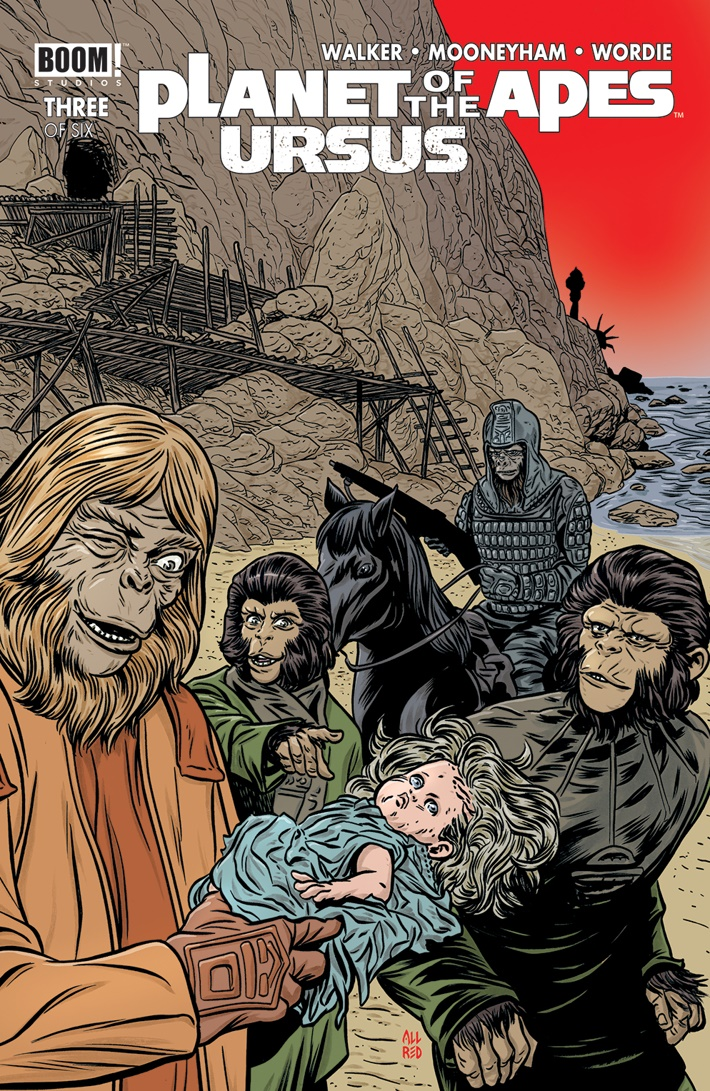 POTA_Ursus_003_B_Variant ComicList Previews: PLANET OF THE APES URSUS #3