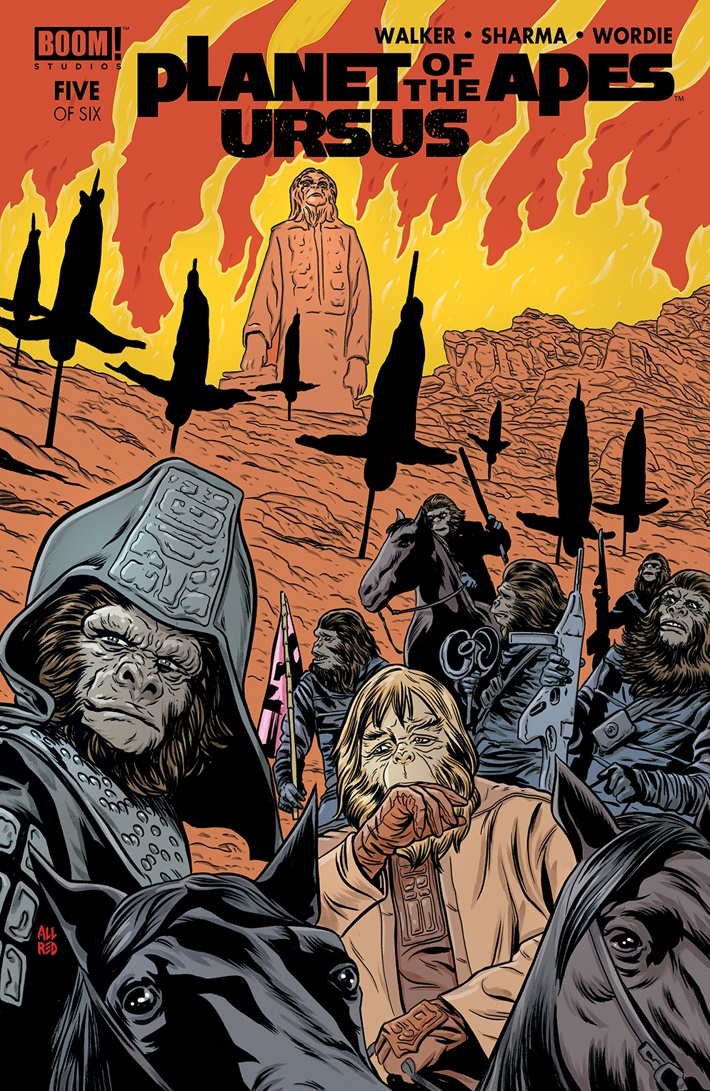 POTA_Ursus_005_B_Variant ComicList Previews: PLANET OF THE APES URSUS #5