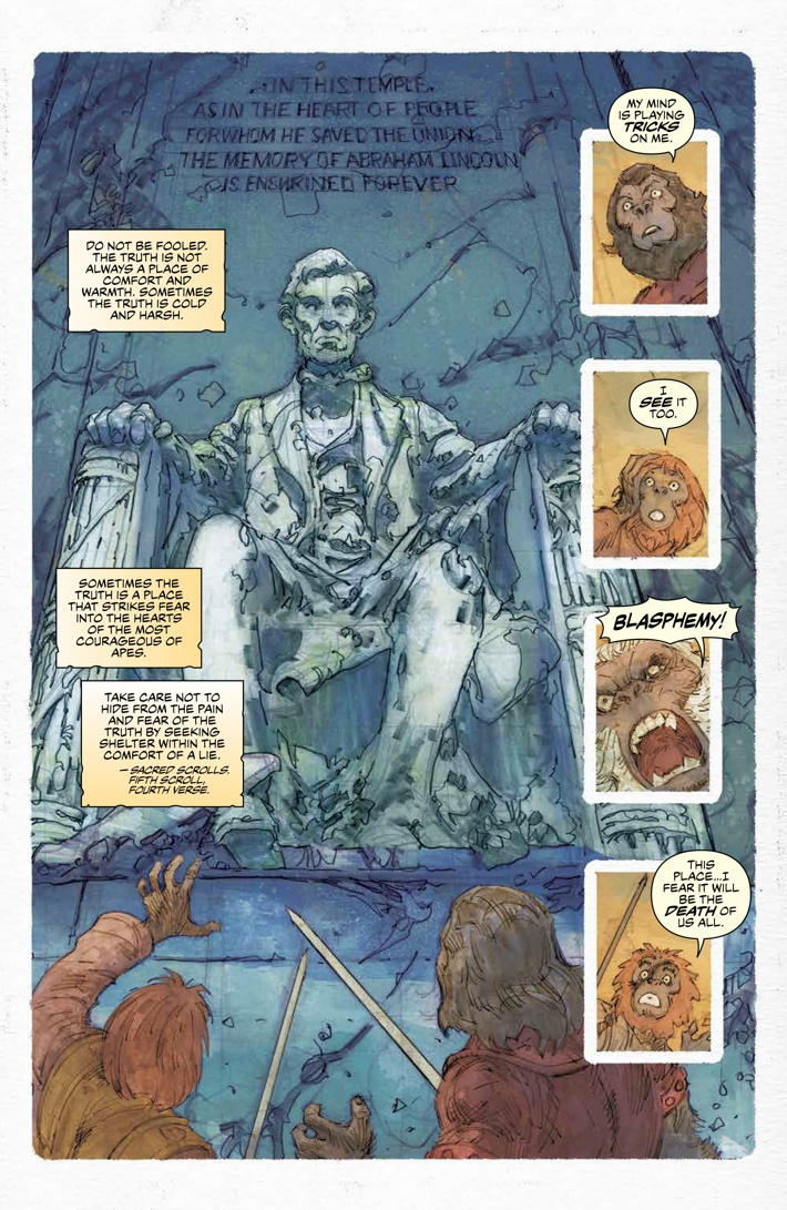 POTA_Ursus_005_PRESS_4 ComicList Previews: PLANET OF THE APES URSUS #5