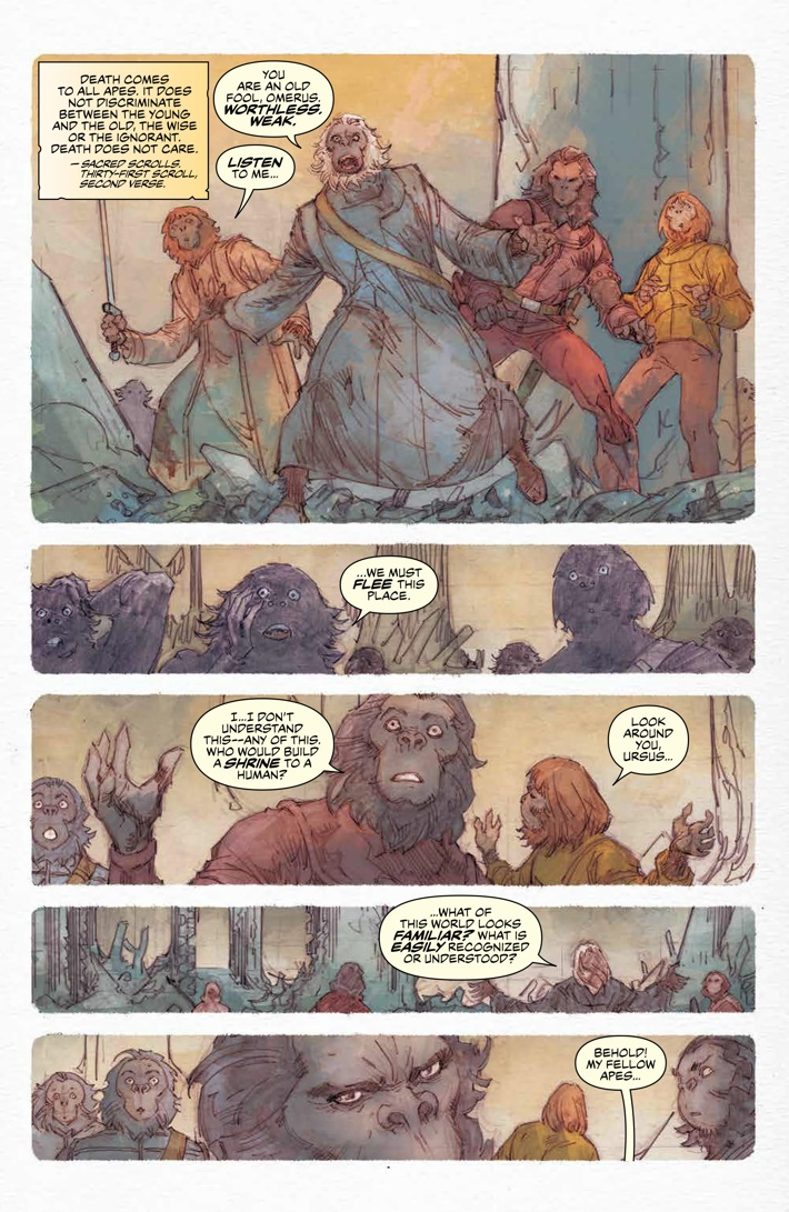 POTA_Ursus_005_PRESS_5 ComicList Previews: PLANET OF THE APES URSUS #5