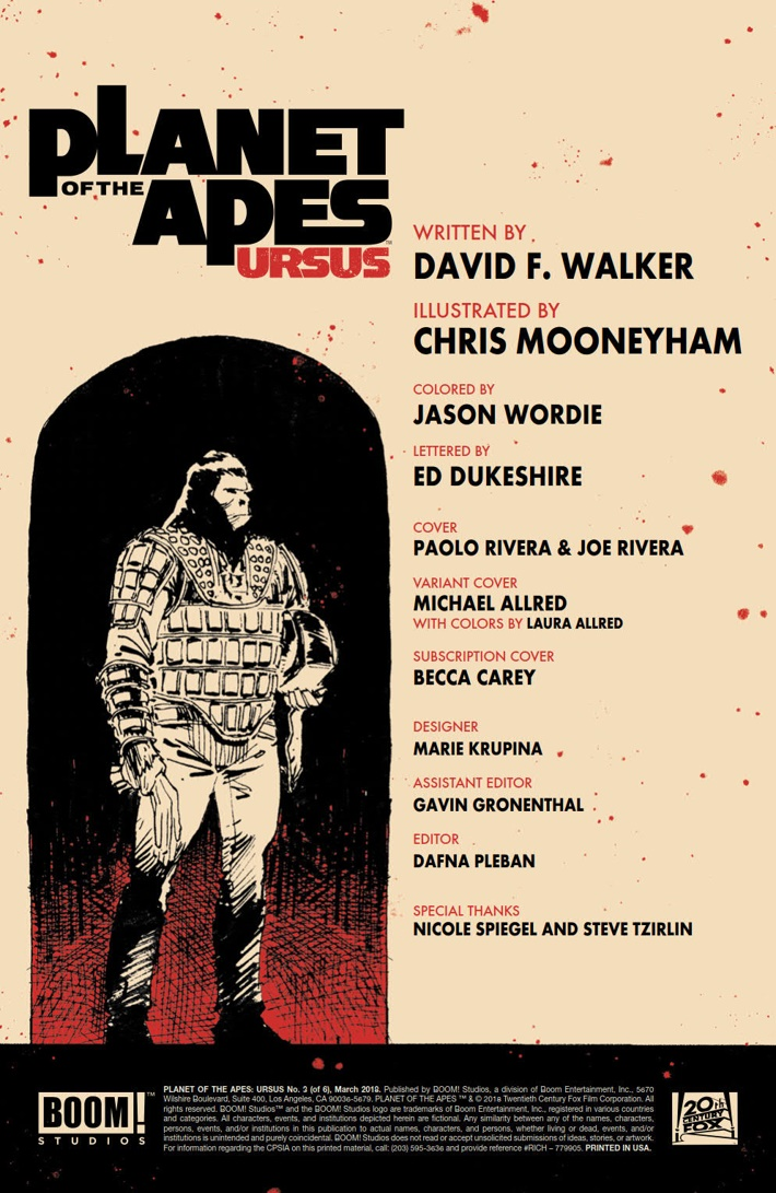 POTA_Ursus_03_PRESS_2 ComicList Previews: PLANET OF THE APES URSUS #3