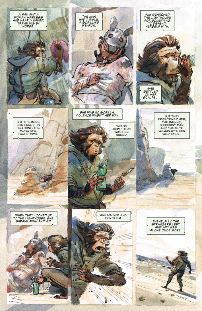 POTA_WhenWorldsCollide_PRESS_13 ComicList Previews: PLANET OF THE APES WHEN WORLDS COLLIDE SC