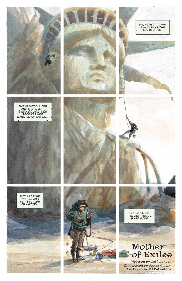 POTA_WhenWorldsCollide_PRESS_9 ComicList Previews: PLANET OF THE APES WHEN WORLDS COLLIDE SC
