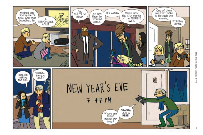 Pages-from-BMACHV5-PE-MARKETING-2-3 ComicList Previews: BAD MACHINERY POCKET EDITION VOLUME 5 THE CASE OF THE FIRE INSIDE GN