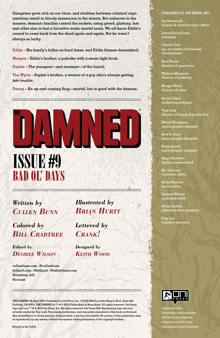 Pages-from-DAMNEDBOD-9-MARKETING-2 ComicList Previews: THE DAMNED #9