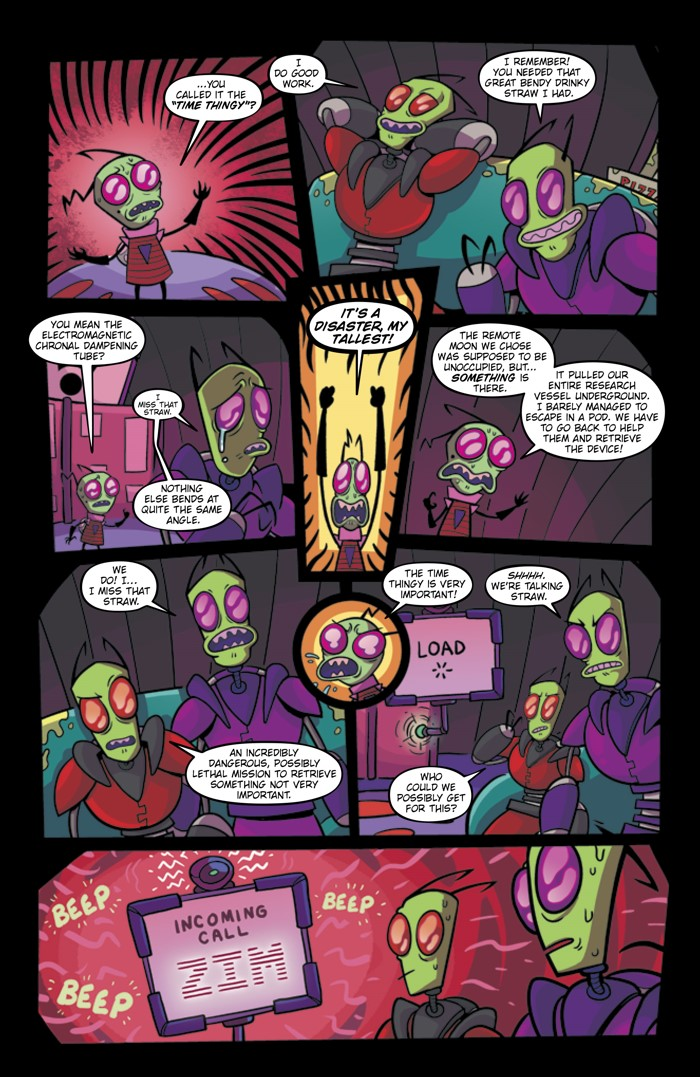 Pages-from-INVADERZIM-28-MARKETING-5 ComicList Previews: INVADER ZIM #28
