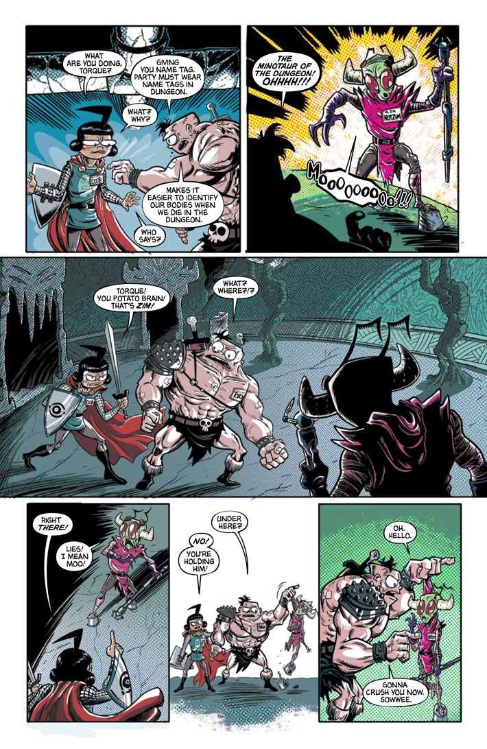 Pages-from-INVADERZIM-40-REFERENCE-7 ComicList Previews: INVADER ZIM #40