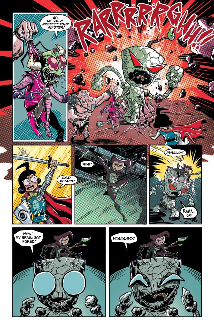 Pages-from-INVADERZIM-40-REFERENCE-8 ComicList Previews: INVADER ZIM #40