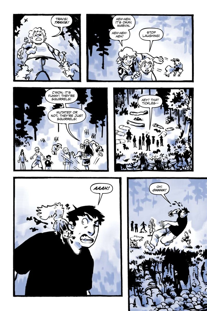 Pages-from-JRBRAVESV2-MARKETING-4 ComicList Previews: JUNIOR BRAVES OF THE APOCALYPSE VOLUME 2 OUT OF THE WOODS GN
