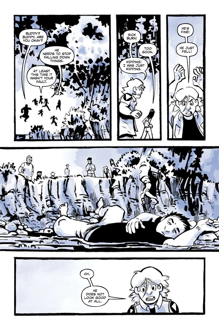 Pages-from-JRBRAVESV2-MARKETING-5 ComicList Previews: JUNIOR BRAVES OF THE APOCALYPSE VOLUME 2 OUT OF THE WOODS GN