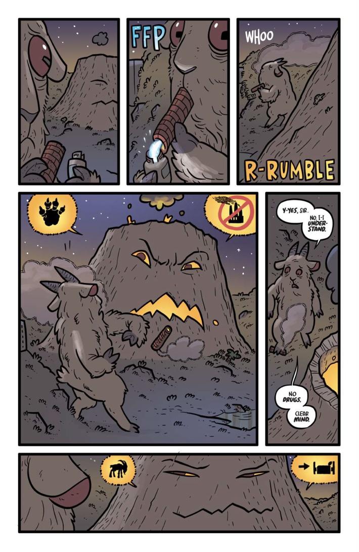 Pages-from-KAIJUMAXV3-TPB-MARKETING-2-7 ComicList Previews: KAIJUMAX VOLUME 3 SEASON THREE KING OF THE MONSTAS TP