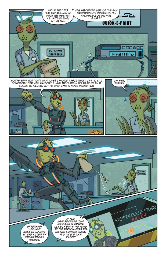 Pages-from-RICKMORTY-PRESENTS-KROMBOPULOS-1-4 ComicList Previews: RICK AND MORTY PRESENTS KROMBOPULOUS MICHAEL #1