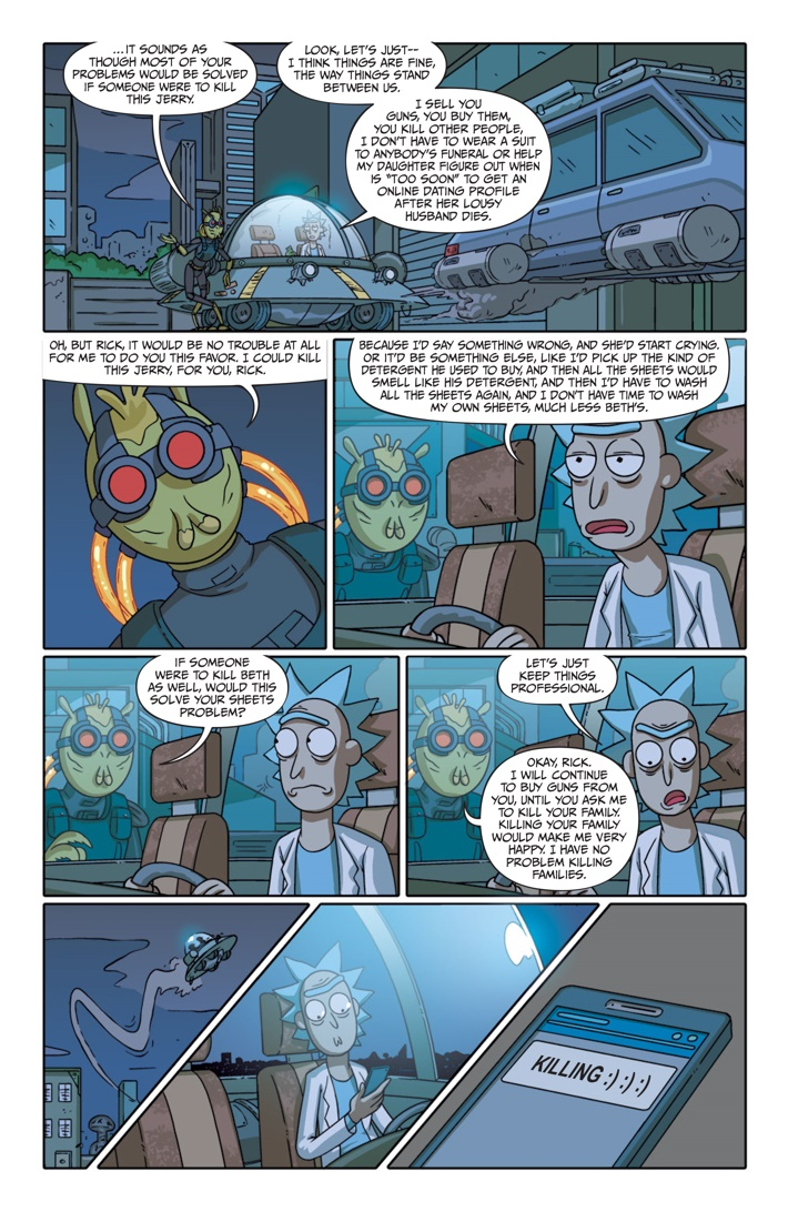 Pages-from-RICKMORTY-PRESENTS-KROMBOPULOS-1-5 ComicList Previews: RICK AND MORTY PRESENTS KROMBOPULOUS MICHAEL #1