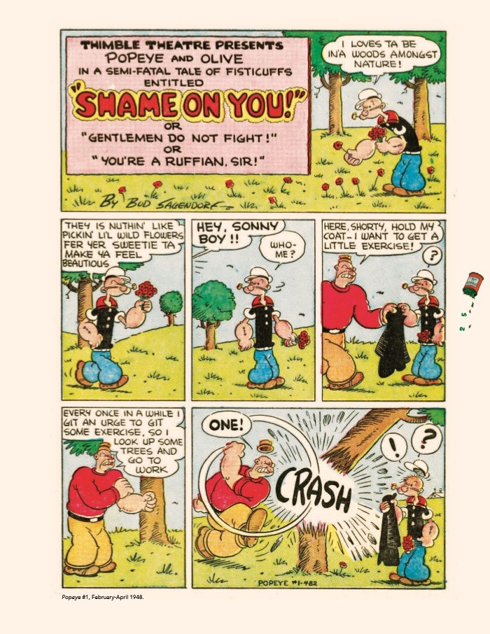 Popeye_GreatComicTales-pr-5 ComicList Previews: POPEYE THE GREAT COMIC BOOK TALES BY BUD SAGENDORF TP