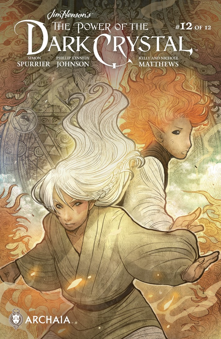 PowerDarkCrystal_012_B_Subscription ComicList Previews: JIM HENSON'S THE POWER OF THE DARK CRYSTAL #12