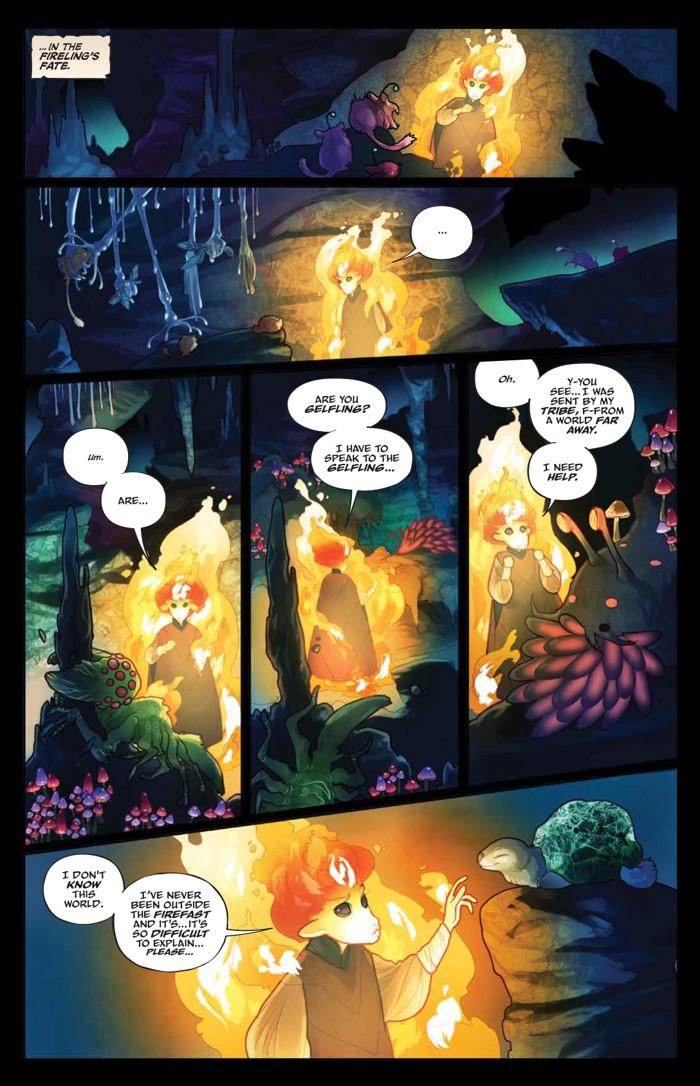 PowerDarkCrystal_v1_HC_PRESS_19 ComicList Previews: JIM HENSON'S THE POWER OF THE DARK CRYSTAL VOLUME 1 HC
