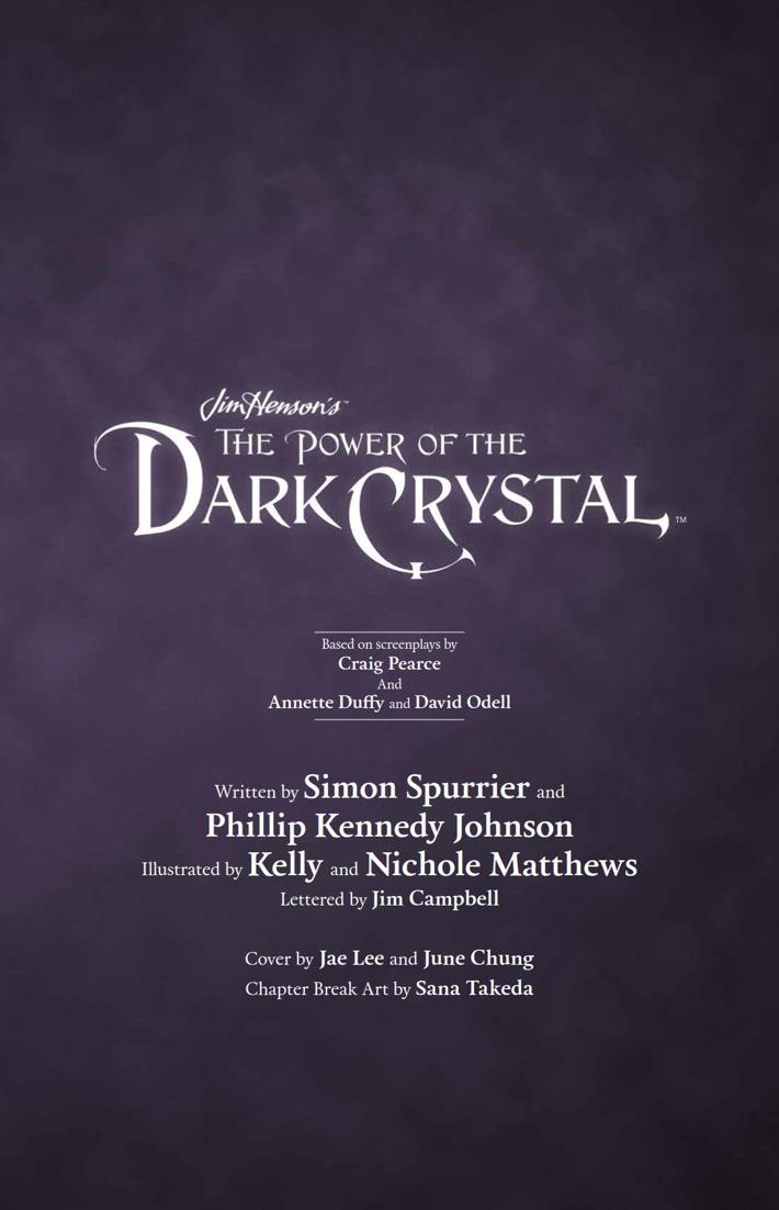 PowerDarkCrystal_v2_HC_PRESS_4 ComicList Previews: JIM HENSON'S THE POWER OF THE DARK CRYSTAL VOLUME 2 HC