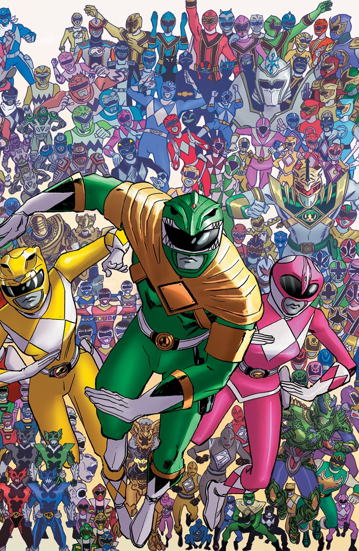 PowerRangers_025_I_Variant ComicList Previews: MIGHTY MORPHIN POWER RANGERS #25