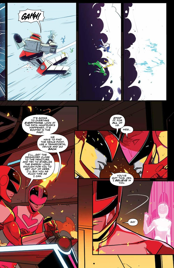 PowerRangers_025_PRESS_5 ComicList Previews: MIGHTY MORPHIN POWER RANGERS #25 (2ND PRINTING)