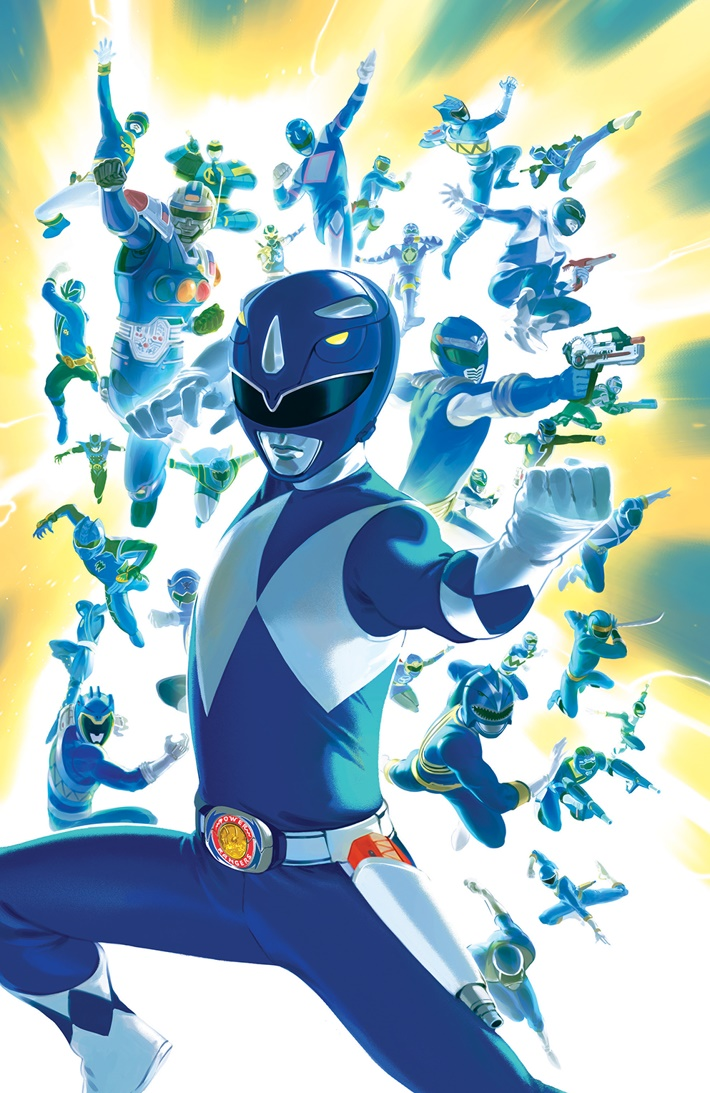 PowerRangers_027_C_Variant ComicList Previews: MIGHTY MORPHIN POWER RANGERS #27