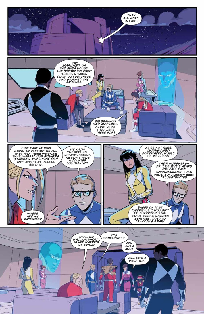 PowerRangers_027_PRESS_4 ComicList Previews: MIGHTY MORPHIN POWER RANGERS #27