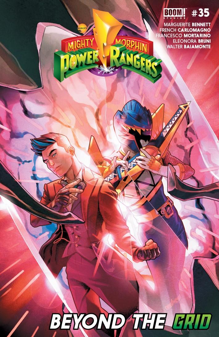 PowerRangers_035_A_Main ComicList Previews: MIGHTY MORPHIN POWER RANGERS #35