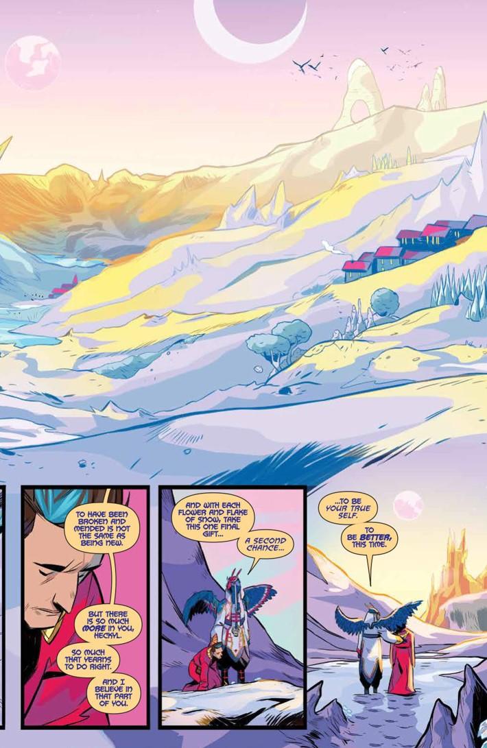PowerRangers_035_PRESS_4 ComicList Previews: MIGHTY MORPHIN POWER RANGERS #35