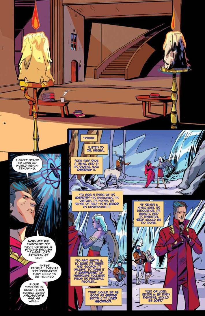 PowerRangers_035_PRESS_6 ComicList Previews: MIGHTY MORPHIN POWER RANGERS #35