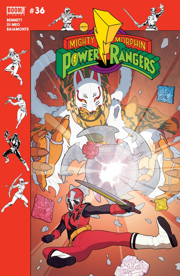 PowerRangers_036_B_Preorder ComicList Previews: MIGHTY MORPHIN POWER RANGERS #36