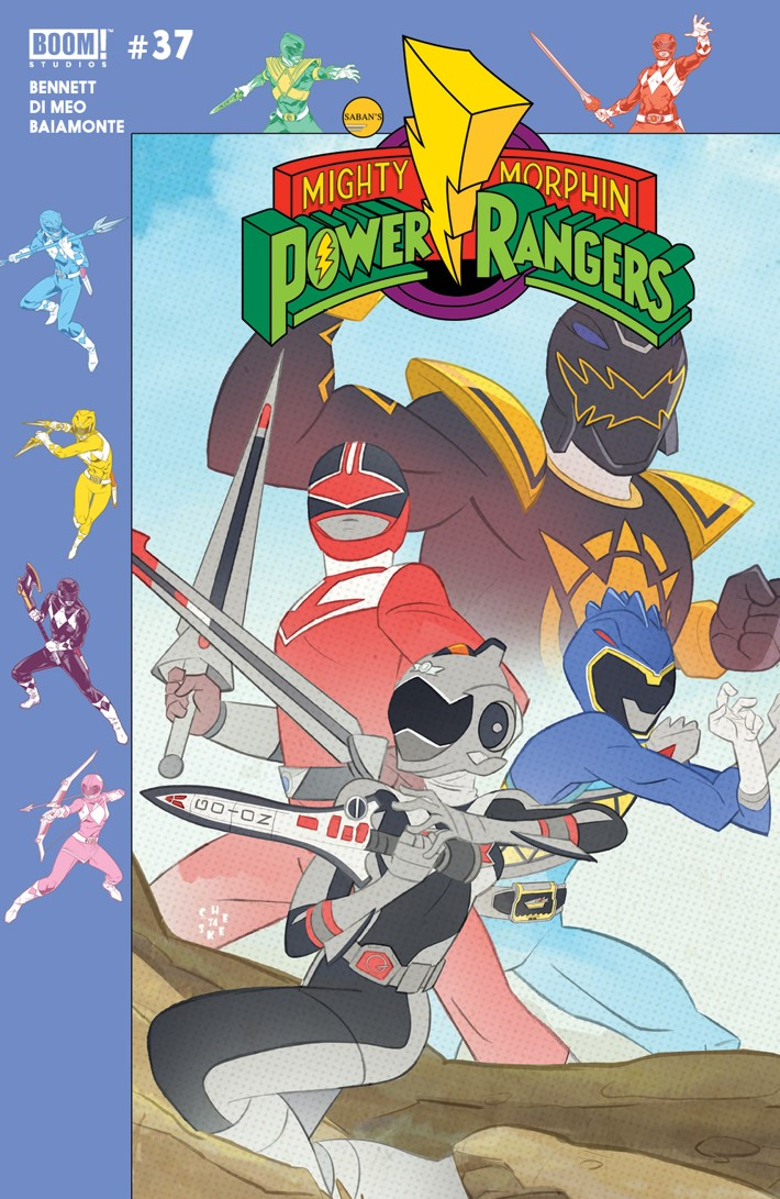 PowerRangers_037_Cover_B_Preorder ComicList Previews: MIGHTY MORPHIN POWER RANGERS #37